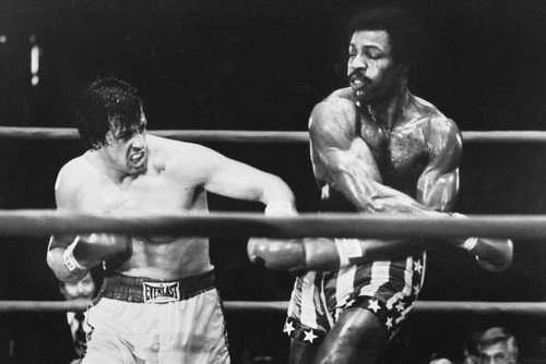 """Rocky vs. Apollo Classic Fight 24""""x36"""" Movie Poster ..."""