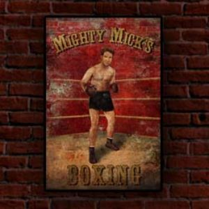 Mighty Mick's Gym 20″x30″ Poster
