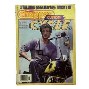 Sylvester Stallone Rocky III Harley