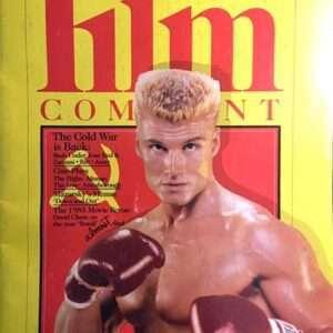 "Vintage Film Comment ""Ivan Drago"" Dolph Lundgren Magazine (1986)"
