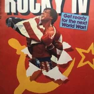 Vintage Rocky IV Official Movie Book Magazine (1985)