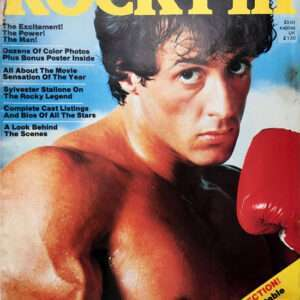 Vintage Rocky III Official Movie Magazine (1982)