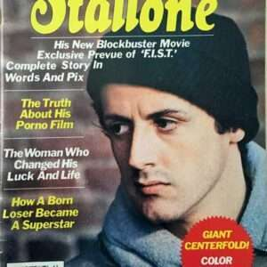 Rare! Vintage Sly Stallone Magazine, Rocky Balboa Cover (1977)