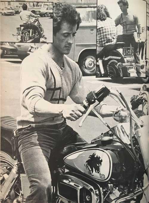 Vintage Sylvester Stallone Rocky Iii Street Chopper