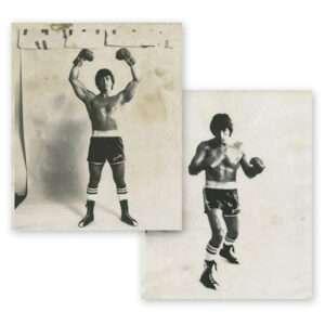 Vintage Set of (2) 8″x10″ Photos Sylvester Stallone, Rocky II Publicity Portraits