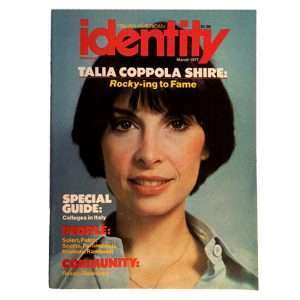 Talia Shire Vintage Magazine
