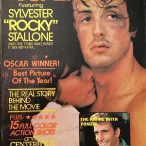 "Vintage Movie Superstars ""Rocky"" & Sylvester Stallone Magazine (1977)"