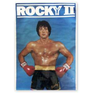 Vintage 1979 Rocky II / Rocky Balboa Poster