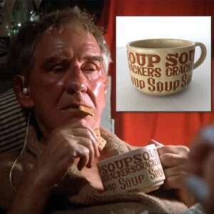 Mickey Goldmill's Mighty Mug, Vintage Rocky II Screen Accurate Prop-Twin